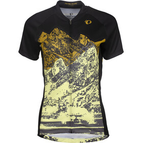 PEARL iZUMi MTB LTD Maglietta Donna, giallo/nero